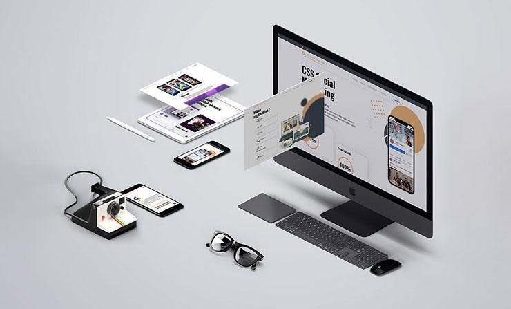 CS&S Media webfejlesztése